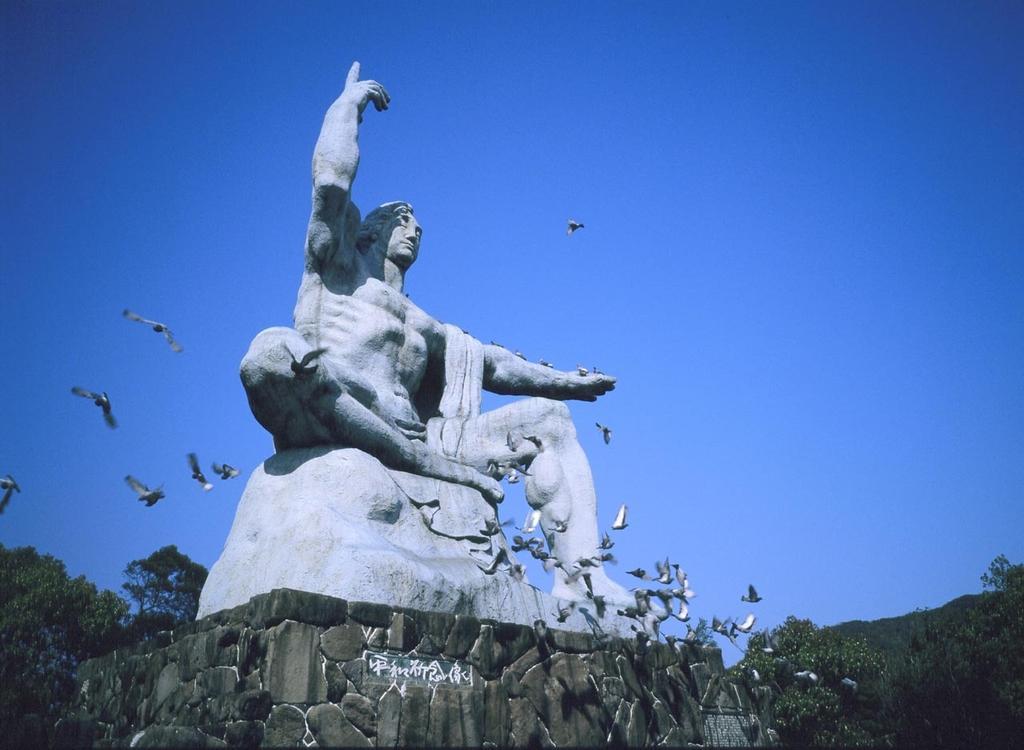 平和公园(平和祈念像、平和之钟)-1