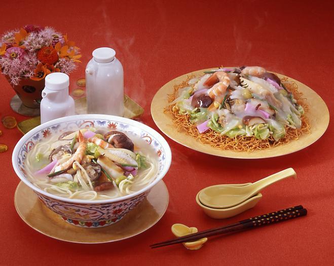 長崎新地中華街で夕食-1