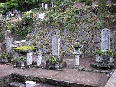 晧台寺の向井家墓地-1