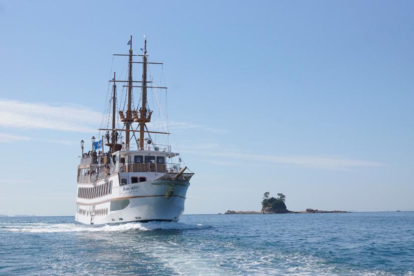 九十九島遊覧船パールクィーン-1