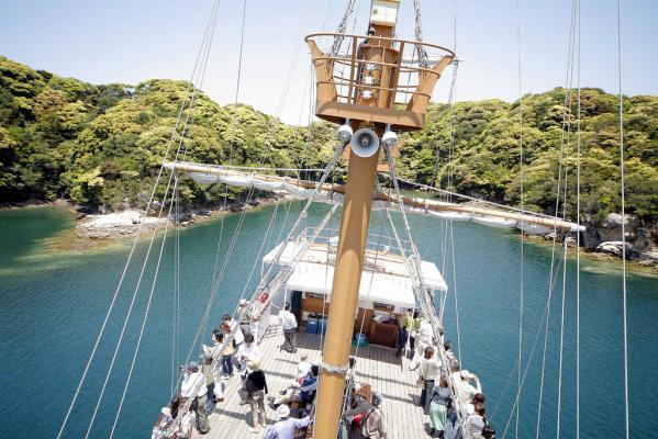 九十九島遊覧船パールクィーン-3