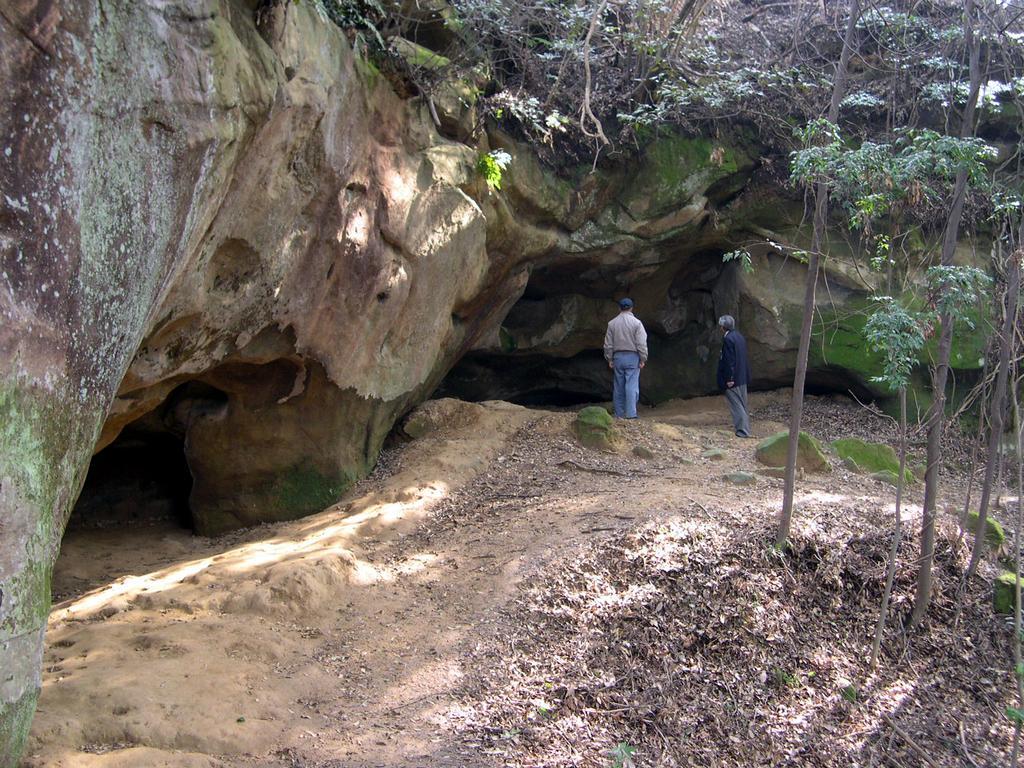 泉福寺洞窟-1