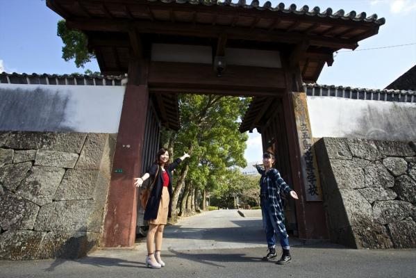 Fukue Castle  (Ishida Castle)-1