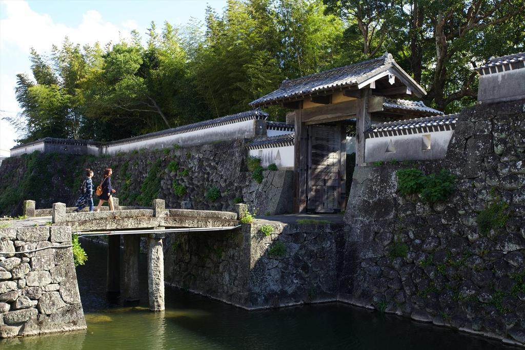 日本で唯一の海城 福江城(石田城)-1
