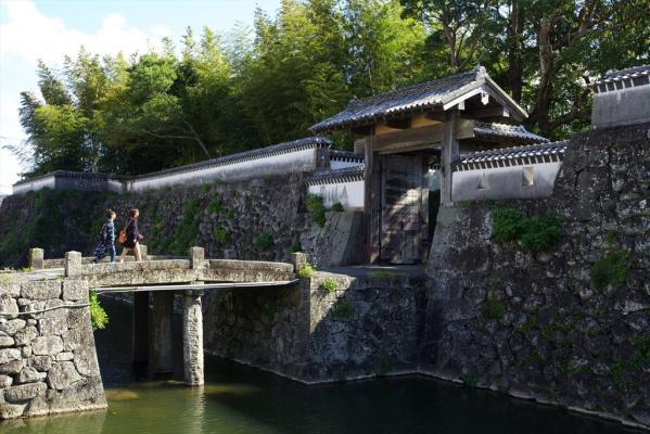 Fukue Castle  (Ishida Castle)-0