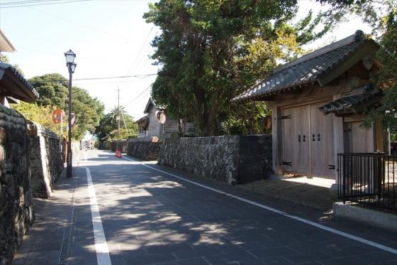 武家屋敷通り-3