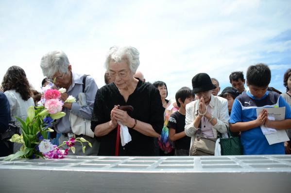 長崎原爆犠牲者慰霊平和祈念式典-2