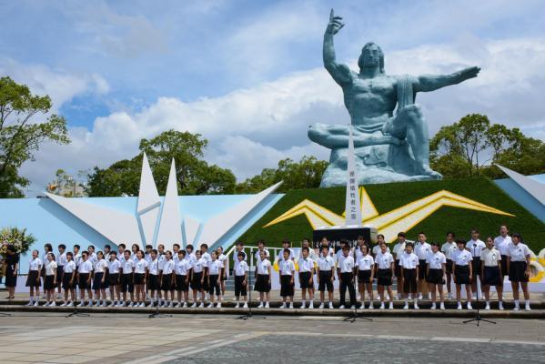 長崎原爆犠牲者慰霊平和祈念式典-0