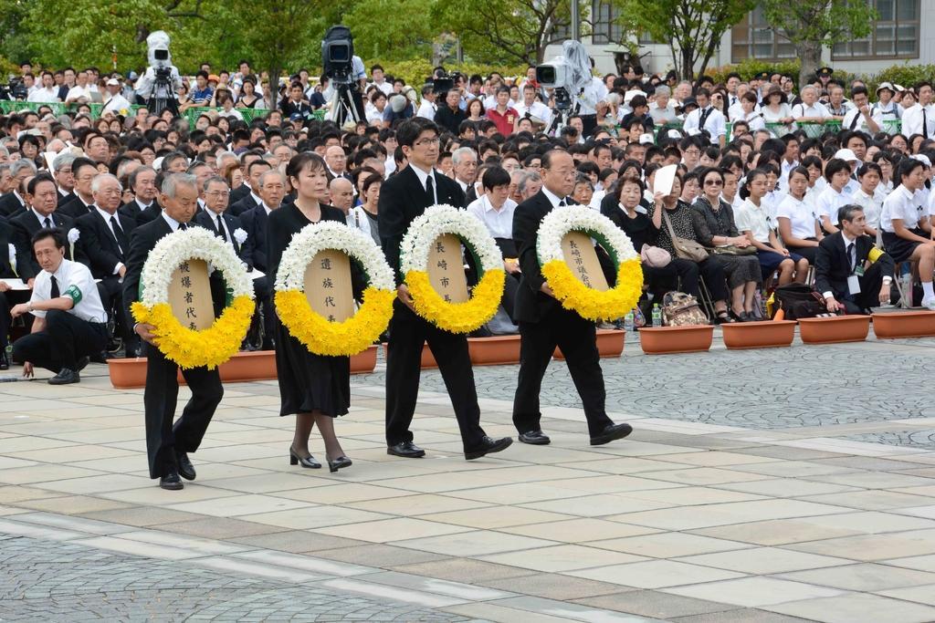 Nagasaki Peace Memorial Ceremony-1
