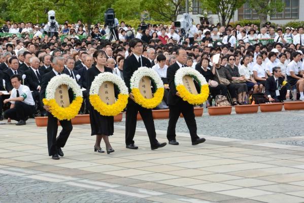 長崎原爆犠牲者慰霊平和祈念式典-1