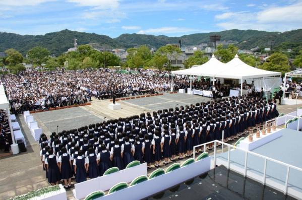 長崎原爆犠牲者慰霊平和祈念式典-4