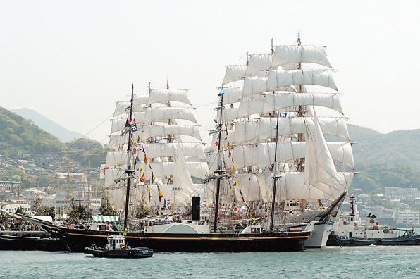 2021長崎帆船まつり-0