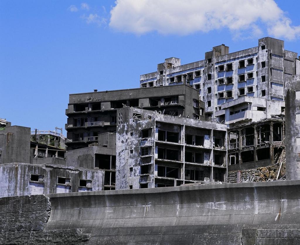 Hashima (Gunkanjima, Battleship Island)-3