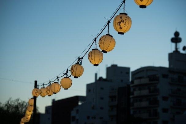 中島川夏風情~長崎夜市-1