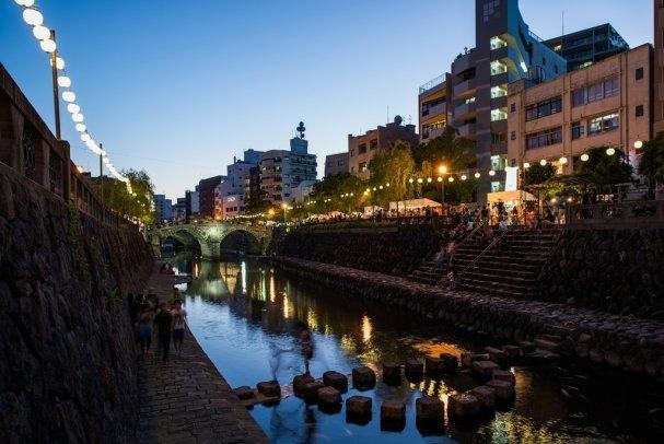 中島川夏風情~長崎夜市-0