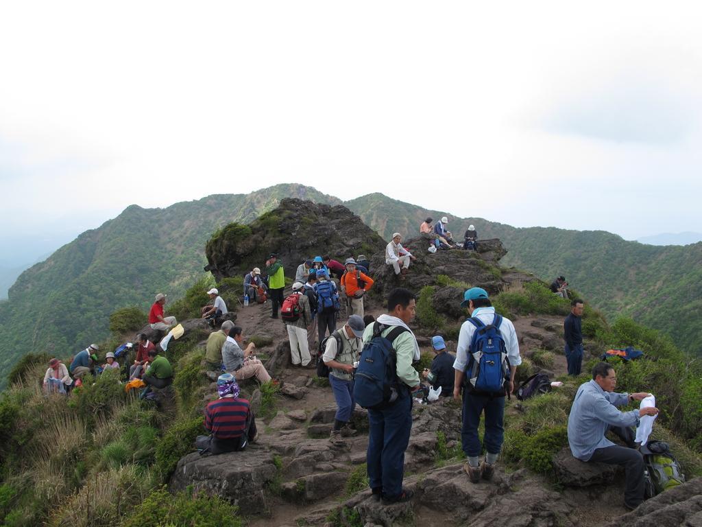 雲仙普賢岳登山コース-2