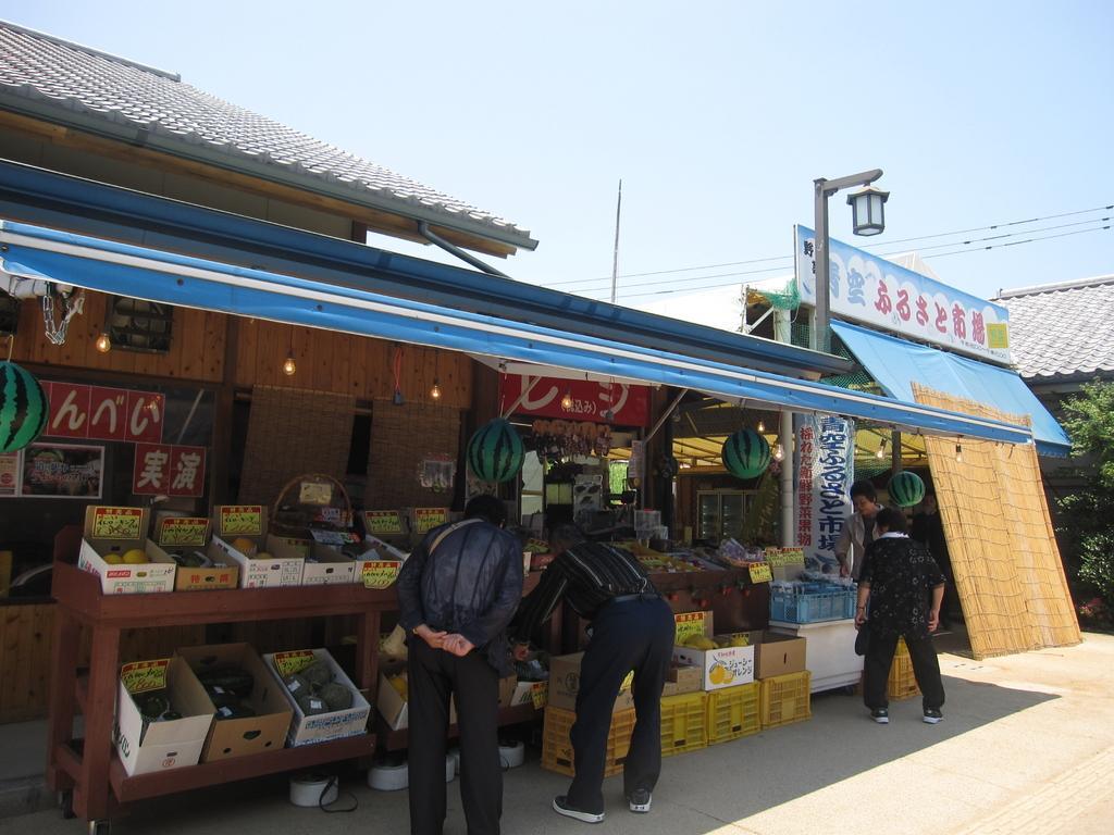 道の駅「みずなし本陣」-4