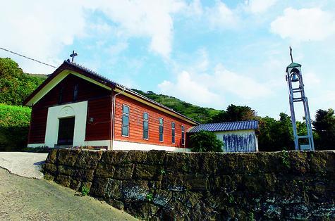 嵯峨島教会-1