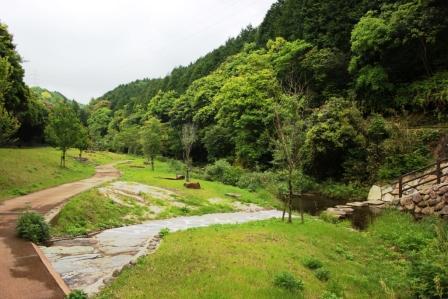 多以良川ホタルの里河川公園-1