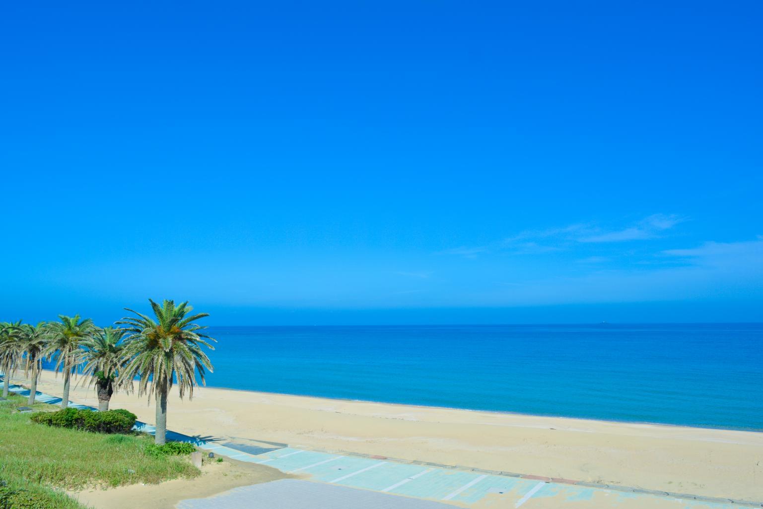 【宇久島】スゲ浜海水浴場-1