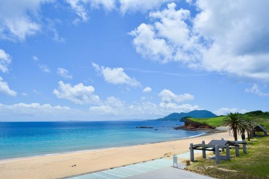【宇久島】スゲ浜海水浴場-0