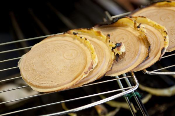雲仙溫泉煎餅體驗-0