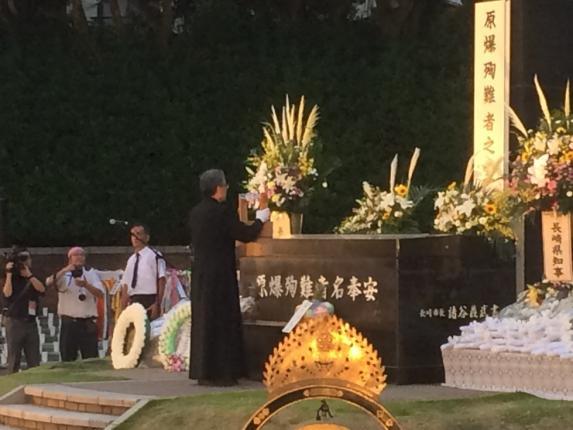 長崎原爆殉難者慰霊祭-1