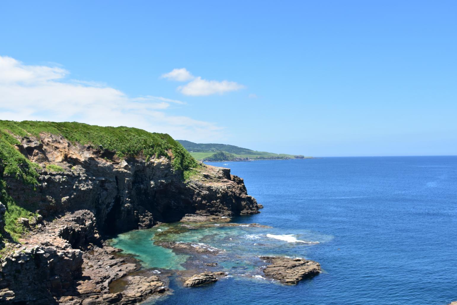 【宇久島】野方海岸(対馬瀬灯台)-1