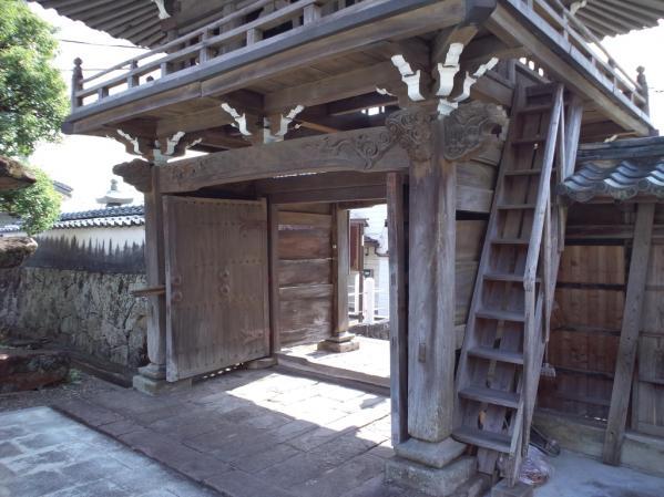 大念寺鐘楼山門-2