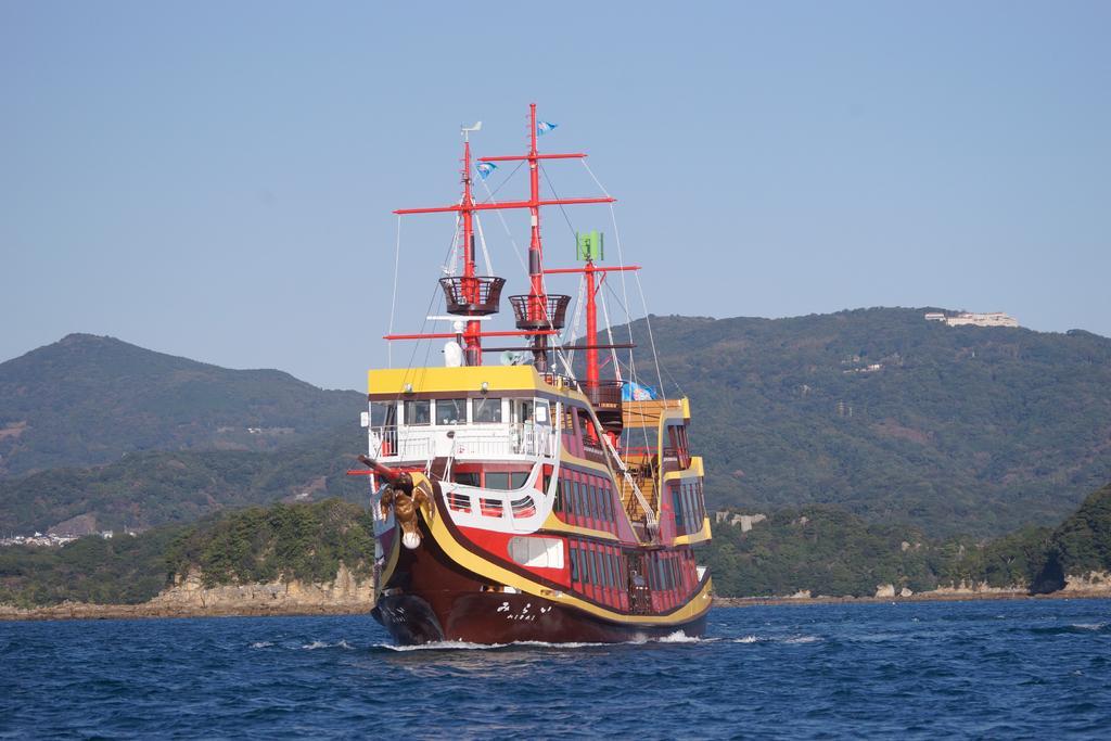 九十九島海賊遊覧船みらい-1