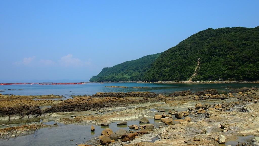 串ノ浜岩脈-1