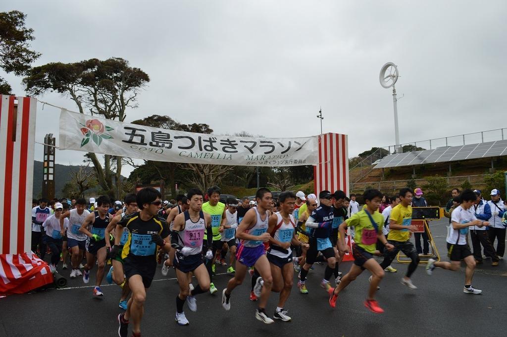 五島つばきマラソン-1