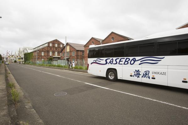 西海国立公園九十九島と海軍さんの港まちを巡る!SASEBOクルーズバス海風-4