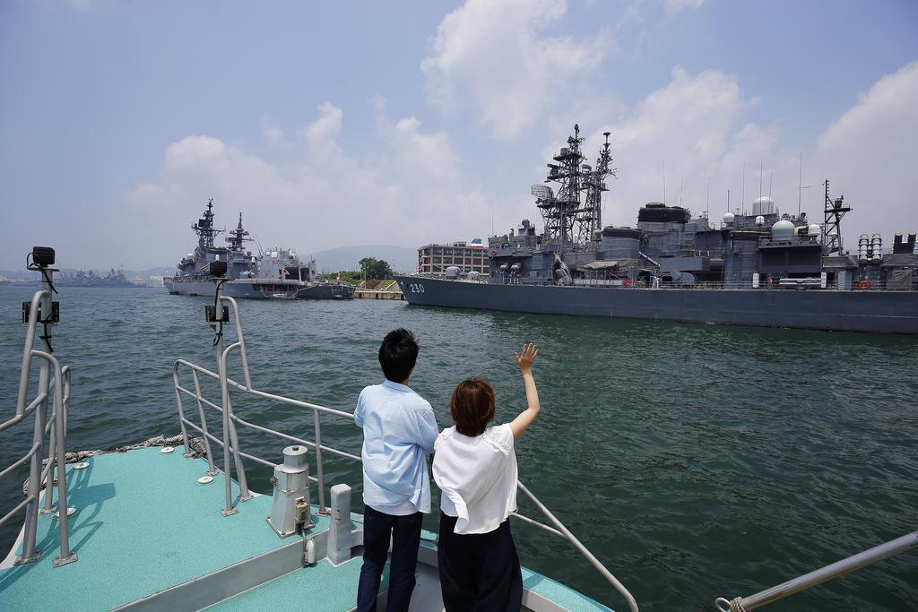 SASEBO軍港クルーズ-1
