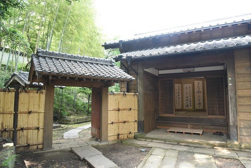 五島氏庭園隠殿屋敷・心字が池-1