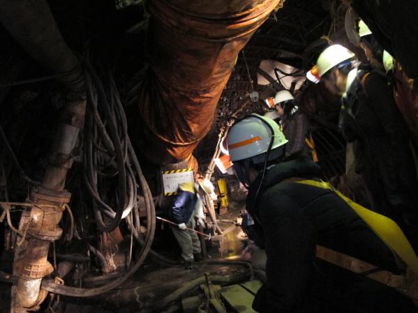 池島炭鉱体験-4
