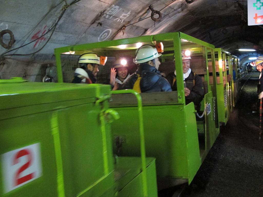 池島炭鉱体験-1