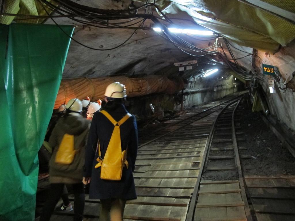 池島炭鉱体験-2