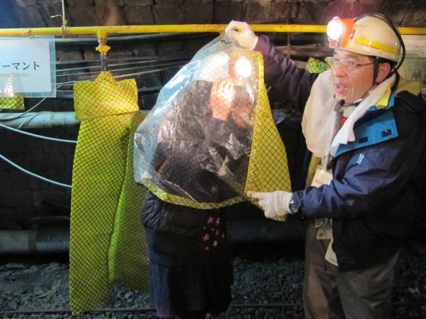 池島炭鉱体験-5