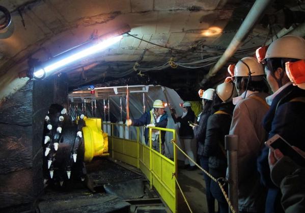 池島炭鉱体験-0