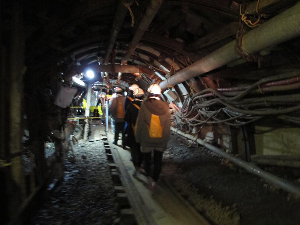 池島炭鉱体験-3