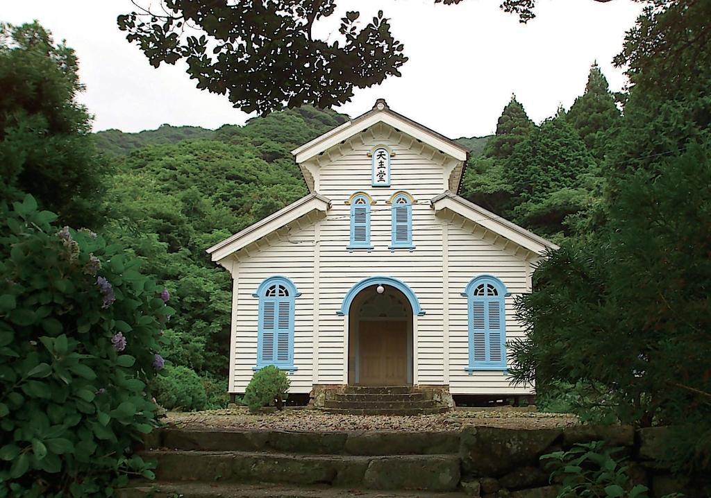 奈留島の江上集落(江上天主堂とその周辺)-0
