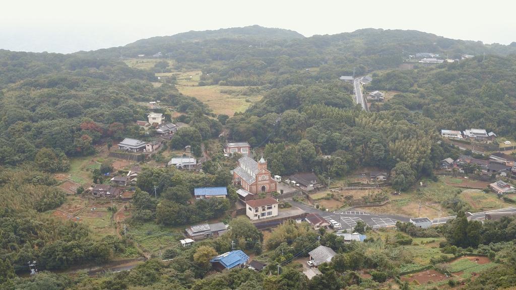 黒島の集落-0
