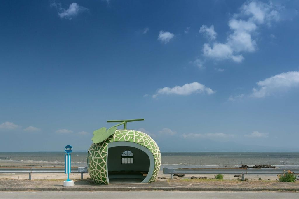Fruit-Shaped Bus Stops-1