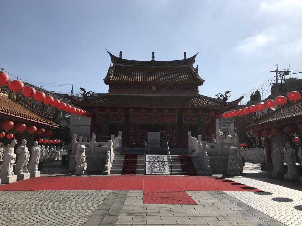 【長崎ランタンフェスティバル】孔子廟会場-5