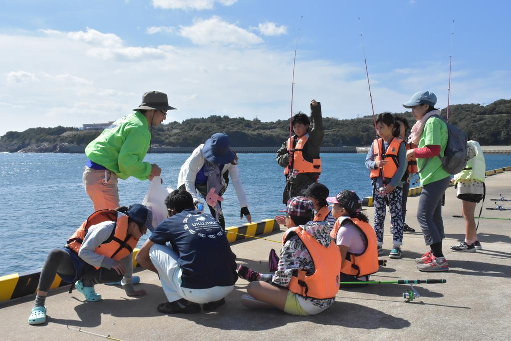 波止釣り体験-1