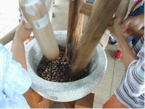 椿油作り体験-1