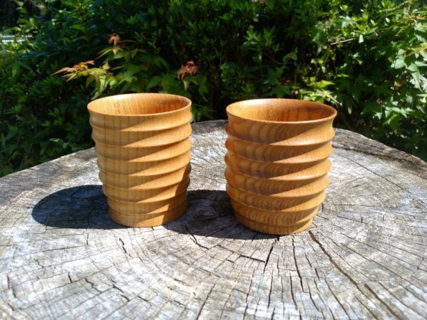 木工旋盤体験-1
