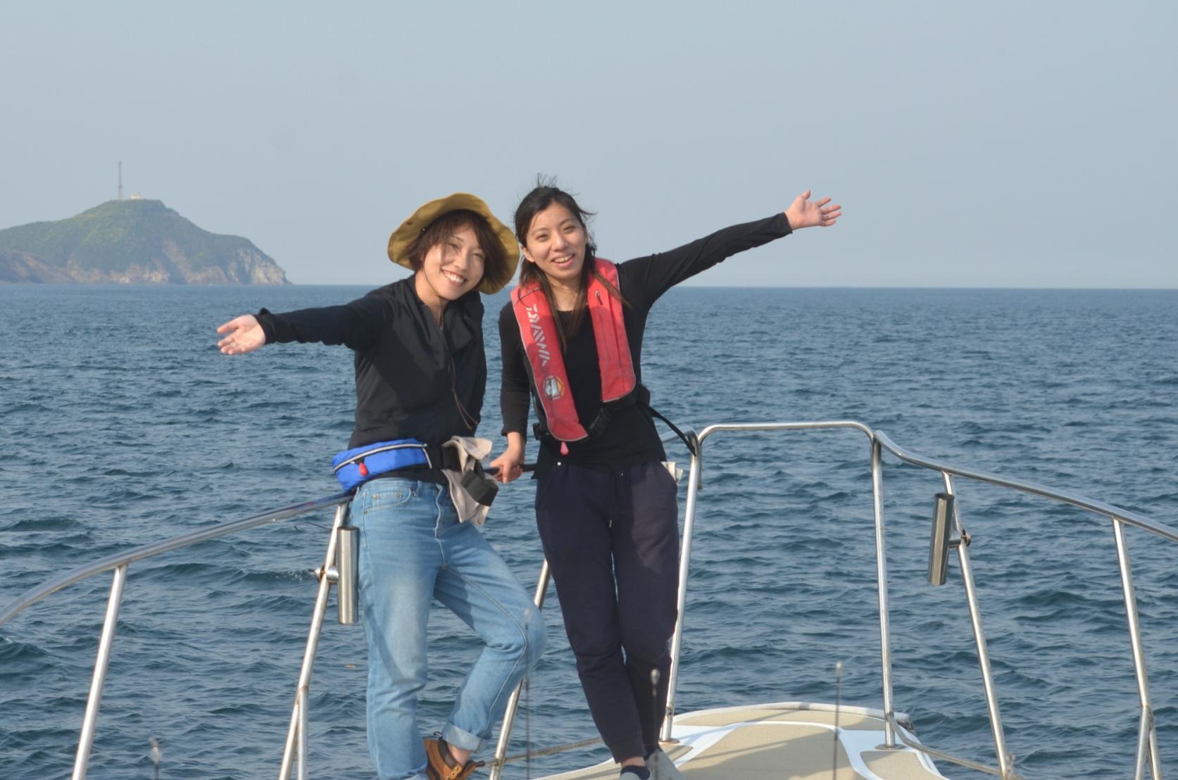 対馬の海を五感で楽しむ!遊漁船&BBQツアー-4