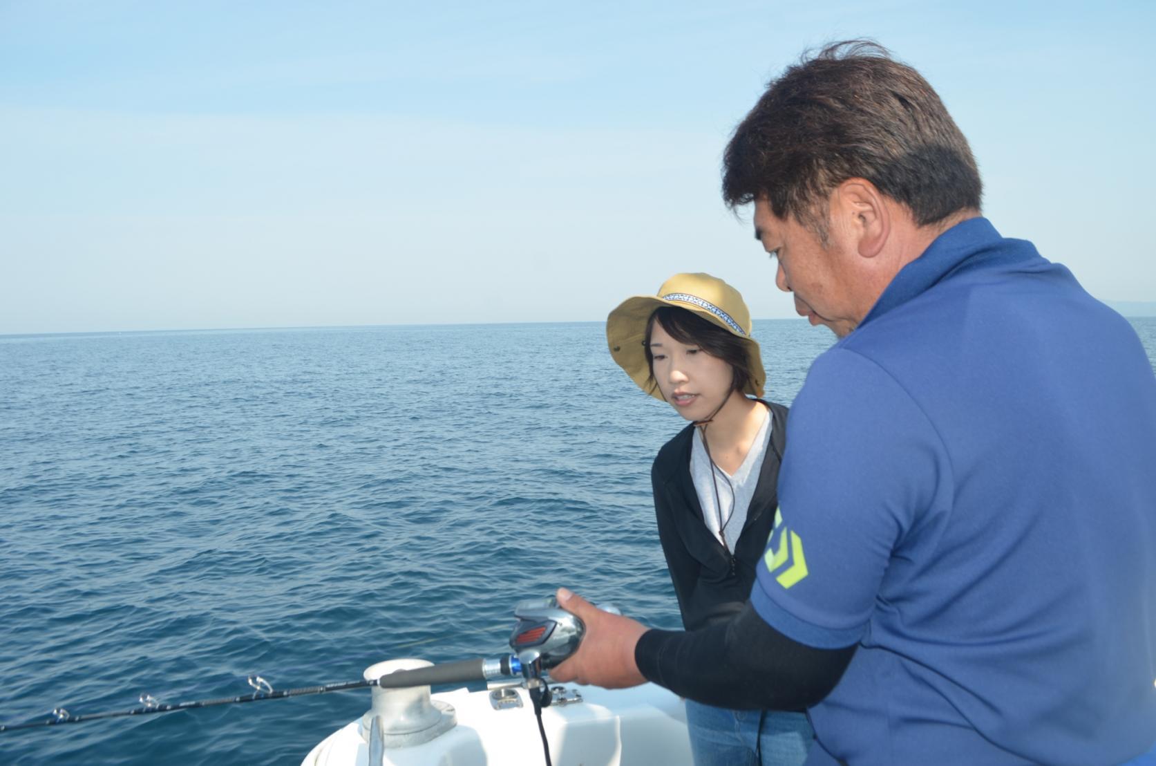 対馬の海を五感で楽しむ!遊漁船&BBQツアー-2